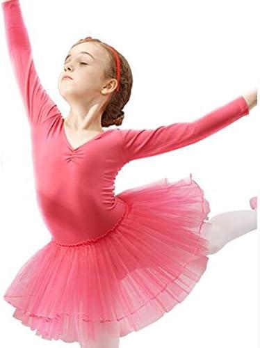 (スタアナ)staanaバレエレオタード ガールズ 子供専用 背中リボン バレエ練習着 女の子 バレエウェア 体操 ダンスウェア チュチュスカート