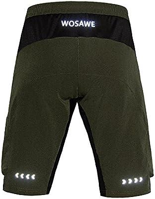 1e6367e8801b2 WSNH888 Shorts Deportivos para Hombres Outdoor Breather Cremallera ...