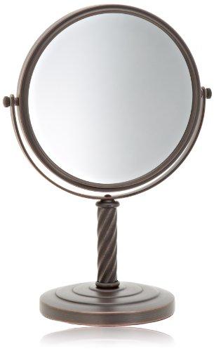 Jerdon LT5165BZ 8 Inch Mirror Magnification