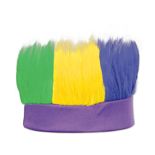 Beistle 60277-GGP Green, Gold, Purple Hairy (Purple Troll)