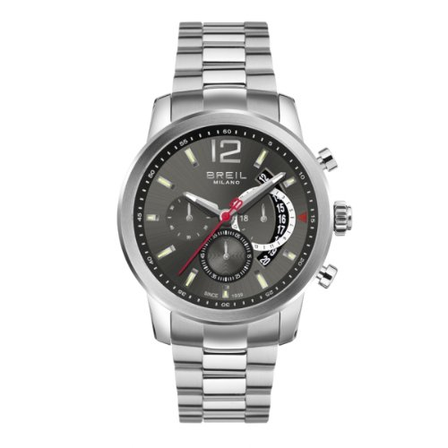 BRAND NEW Breil Men's Chronograph Miglia Stainless Steel Bracelet Watch TW1263