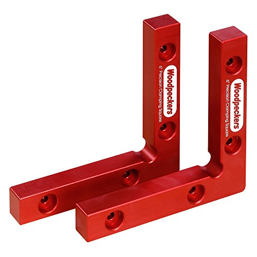 Woodpeckers Precision Woodworking Tools Aluminum Clamping Square Pair