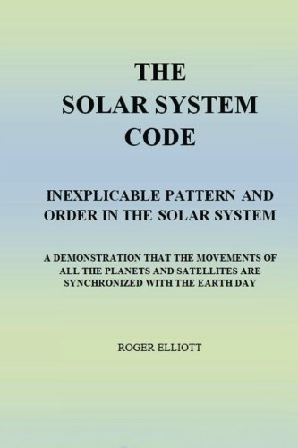 Solar System Order Of The Planets - The Solar System Code: Inexplicable Pattern and Order in The Solar System. A Demonstration That The Movements of All The Planets And Satellites Are Synchronized With The Earth Day.