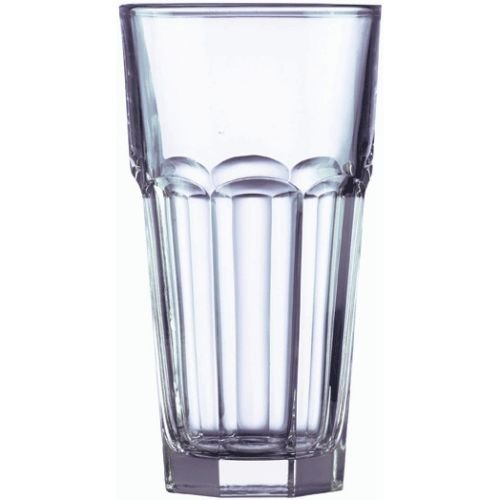 Arcoroc Gotham Fully Tempered Iced Tea Glass, 22 Ounce -- 24 per case. (Fully Tempered Arcoroc Glass)