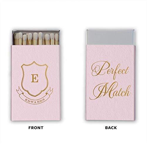- Personalized Matches, Matchbox Wedding Favors, Wedding, A Perfect Match, Decorative Matchbox 277