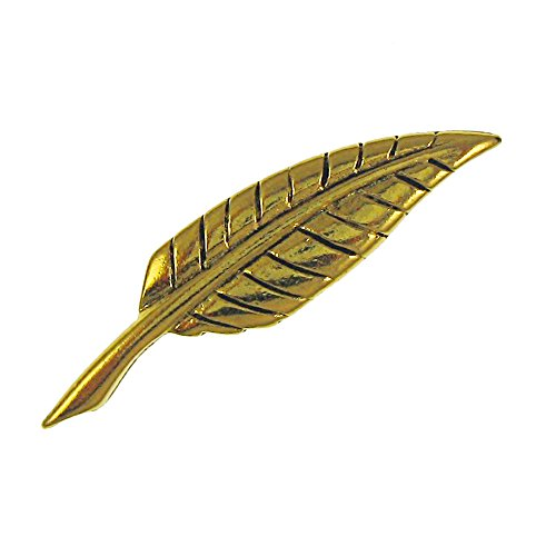 Jim Clift Design Quill Gold Lapel Pin - 25 Count
