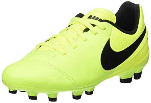 Pictures of NIKE Youth Tiempo Legend VI FG Cleats [Volt] (5Y) 5 M US Big Kid 1