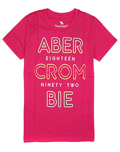 Abercrombie & Fitch Girl's Lightweight Graphic T-Shirt K-13 (11-12, 0045-060) ()