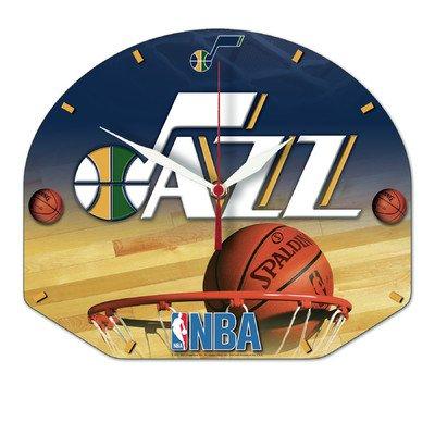 Wincraft NBA 2652310 Utah Jazz High Definition Plaque Clock