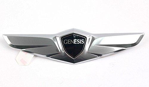 Hyundai Wing Rear Trunk Emblem Compatible for 2015 Hyundai Genesis Sedan