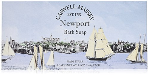 Caswell-Massey Newport Bath Soap, 5.8 Ounce
