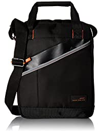 Hedgren Overlap Messenger Bag, Black
