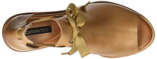Neosens S983 Restored Skin Wood Negreda, Sandalias con Correa de Tobillo para Mujer Beige (Wood)