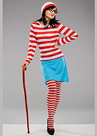 Magic Box Disfraz de Wally Wenda de Wheres para Mujer Adulta XS ...