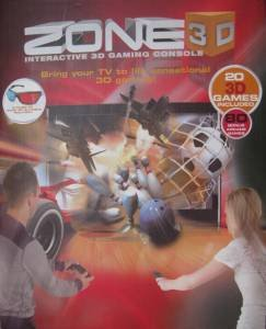 Zone Interactive 3D Gaming Console