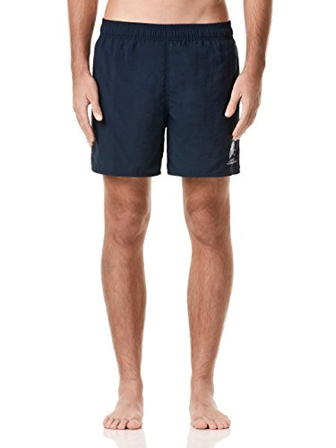 Automobili Lamborghini Mens Reduced Bull Swim Trunks S Blue by Automobili Lamborghini
