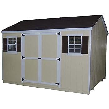 Little Cottage Company Value Workshop 12'x16' Precut Shed Kit
