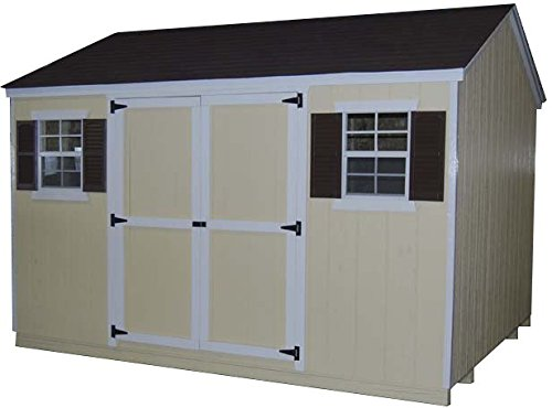 Little Cottage Company Value Workshop 12'x24' Precut Shed Kit