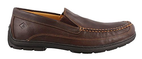 Sperry Top-Sider Men's Gold Loafer Slip on Shoes Brown 11.5 M