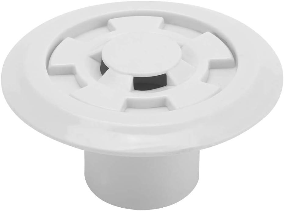 Rosilesi 1 * Salida de desbordamiento de Agua de Piscina - Accesorios de Descarga de desagüe de desagüe de Salida de desbordamiento de Agua de Piscina de plástico