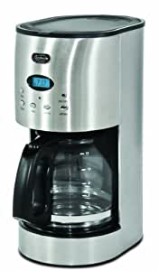Sunbeam 12-Cup programmable Coffee Maker-Urban, Stainless Steel
