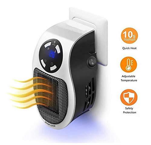 CSCR Portátil Mini Calentador Secador De,500W Adecuado para Oficinas, Dormitorios, Baños - Soplador De Aire Caliente.