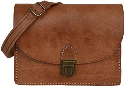 Gusti V5 Women Leather Shoulder Bag, (WxHxD) 10.6x8.7x2.2 in