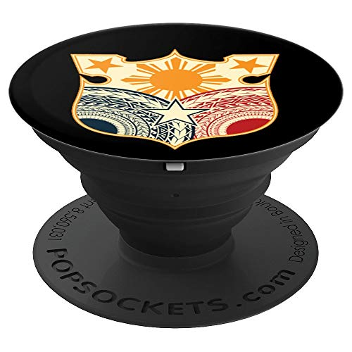 Vintage Filipino Seal - Tribal Philippine Flag - PopSockets Grip and Stand for Phones and Tablets