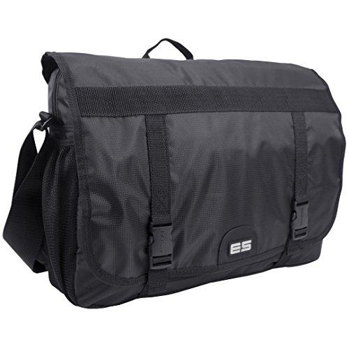eastsport-double-buckle-laptop-messenger-black