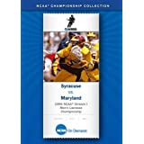 1995 NCAA(r) Division I Men's Lacrosse Championship - Syracuse vs. Maryland