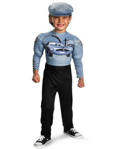 Finn McMissile Muscle Classic Child Costume - Small - Kids Classic Muscle Finn Mcmissile Costumes