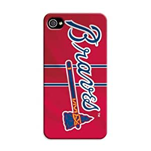 """iphone covers Atlanta Braves Mlb Forever Collectibles """"Iphone 6 4.7 Case Tpu Logo"""""""