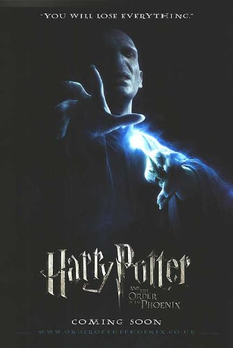 Click for larger image of Harry Potter and the Order of the Phoenix 27 X 40 Original Theatrical Movie Poster