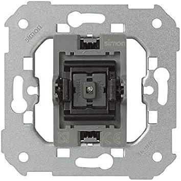 Simon - 7700160-039 pulsador con luminoso 10a s-77 Ref. 6557739160: Amazon.es: Bricolaje y herramientas