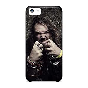AlissaDubois Iphone 5c Protector Cell-phone Hard Covers Customized High Resolution Coal Chamber Band Series [ydP142rPcc]