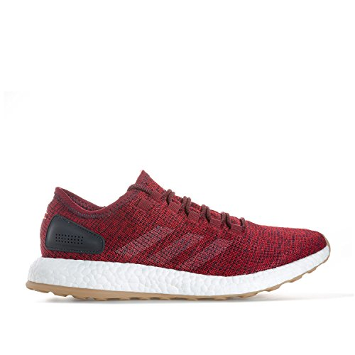 Adidas Herren Pureboost Laufschuhe, Rot (Buruni/Lino/Maosno), 47 EU