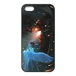 Custom Dragon Back Cover Case for iphone5,5S JN5S-453