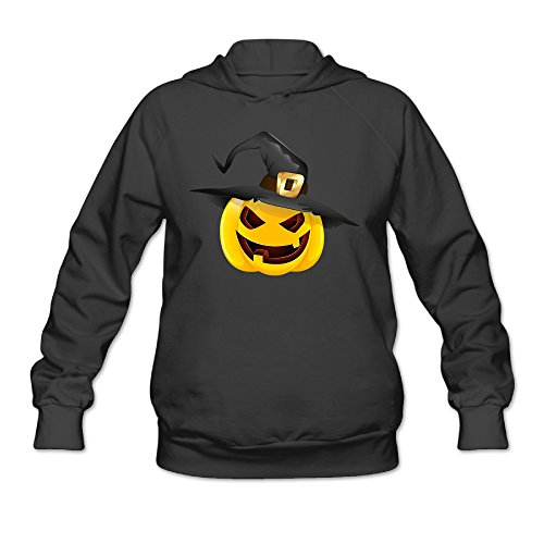 SAMMOI Pumpkin Face Halloween 4 Men's Sport Fleece Hoodie XXL Black (Creepy Halloween Music Online)