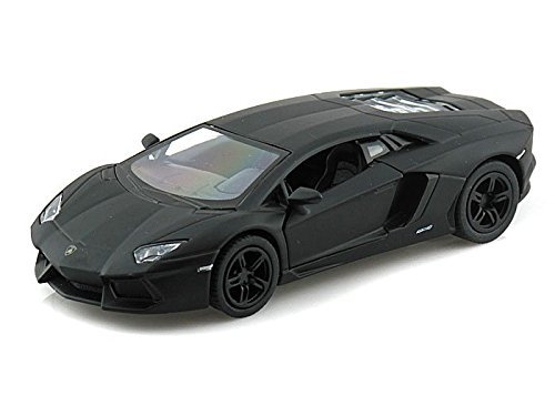 Lamborghini Aventador LP700-4 1/38 Matte Black by Collectable Diecast