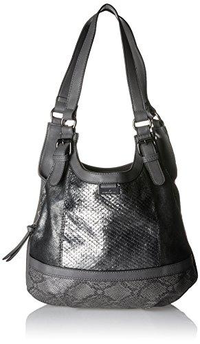 Tom Tailor Acc Juna - Shoppers y bolsos de hombro Mujer Gris (Grau)