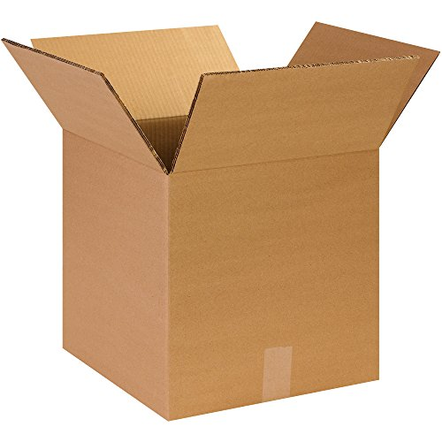 Boxes Fast BFHD141414DW Double Wall Corrugated, Heavy-Duty Cardboard Boxes, 14
