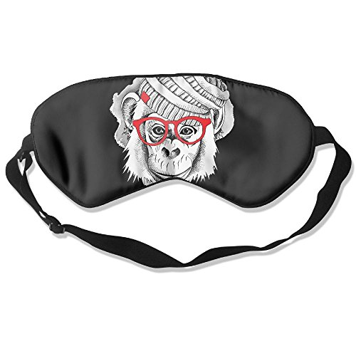 Sleep Mask Sunglasses Monkey Eye Cover Blackout Eye Masks,Soothing Puffy Eyes,Dark Circles,Stress,Breathable Blindfold For Women - Sunglasses Quest