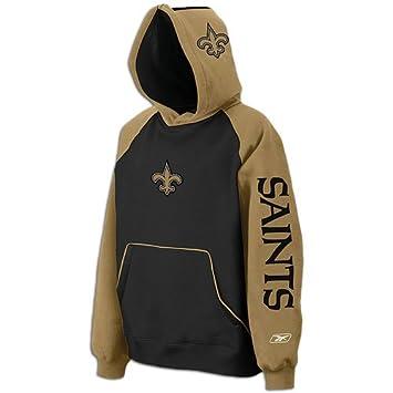 9e0d6c92 Amazon.com: Saints Reebok NFL Helmet Hoodie - Men's ( sz. XL, Black ...