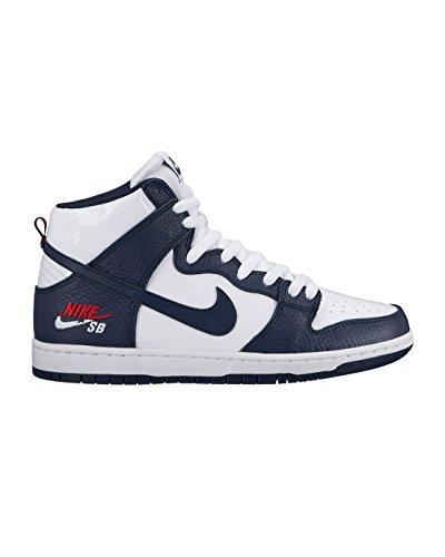 newest 2d48e 262f8 Galleon - Nike Men s Dunk High Pro SB Skate Shoe Future Court 854851-441  Obsidian White (13.0)
