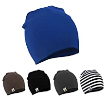 Unisex Cotton Beanie Hat for Cute Baby Boy/Girl Soft Toddler Infant Cap