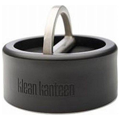 Klean Kanteen Stainless Steel Flip D-Ring Cap for Wide Kanteen Bottle (Mouth D-ring)