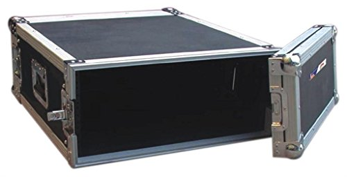 Audio Dynamics Pro DJ ATA Amp Rack Flight Road Travel Case For Audio Equipment - 20'' Inside Depth - AR-4 by Audio Dynamics