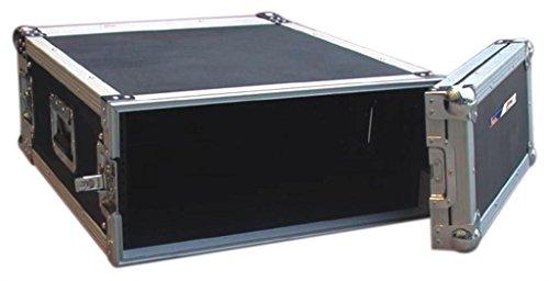 Audio Dynamics Pro DJ ATA Amp Rack Flight Road Travel Case For Audio Equipment - 20'' Inside Depth - AR-4 by Audio Dynamics