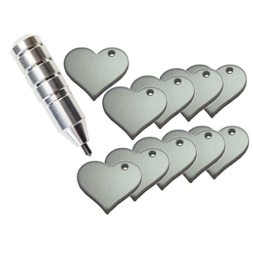 The Etching/Engraving Tool for the Silhouette by Chomas Creations and Heart Stamping Blanks