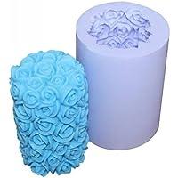 Romote Rose moldes para Velas de Silicona Molde